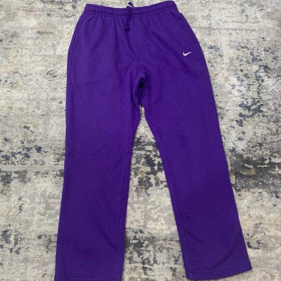nike sweats purple